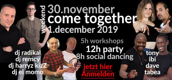 come together kizomba 30.11.2019 ulm